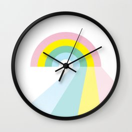 Life is a journey, Enjoy the Pride! #rainbow #Pride #lifestyle Wall Clock