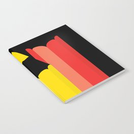 Primary colors Notebook