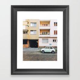 vintage car II. Framed Art Print