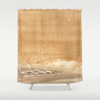 shining Shower Curtains featuring The shining by Ivanushka Tzepesh