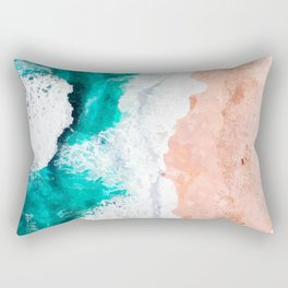 Beach Illustration Rectangular Pillow