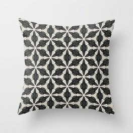 Openwork Abstract Pattern Throw Pillow