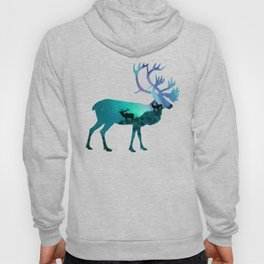 Northern Lights Elk Hoody
