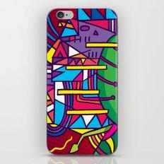Alien Colors iPhone & iPod Skin