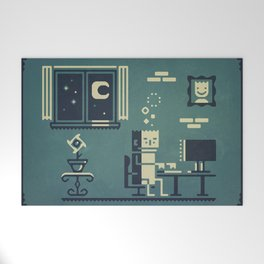 Screenstruck graphic illustration Welcome Mat