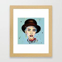Madame Melancholy Framed Art Print