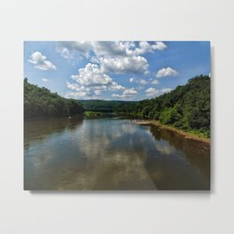Song of the Delaware River Metal Print