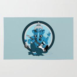 Ganesha rocks ! (v2) Rug