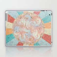 the fox and the snake Laptop & iPad Skin