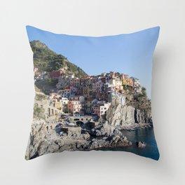 Manarola,Italy Throw Pillow