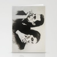 nick cave Stationery Cards featuring NICK CAVE by Bailey McNicol
