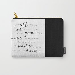 hillary clinton quote Carry-All Pouch