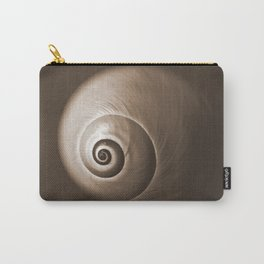 Nautilus in Sepia Carry-All Pouch