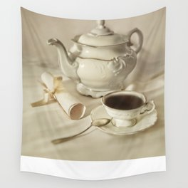 Tea time Wall Tapestry