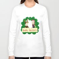 supernatural Long Sleeve T-shirts featuring Supernatural by Brittany's Drawings and Doodles