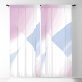 Pastel Circular Color Splash Blackout Curtain