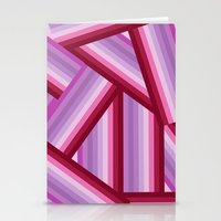 gradient Stationery Cards featuring Gradient by Louise Machado
