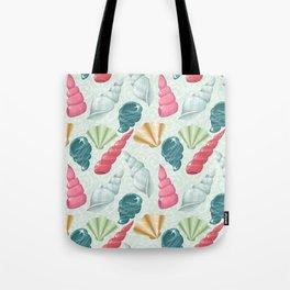 Pastel seashells Tote Bag