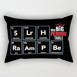 The Big (Bang) Periodic Table Rectangular Pillow