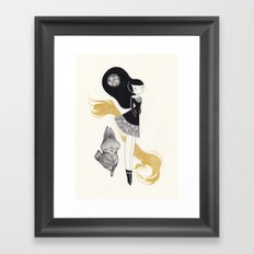 -R- Framed Art Print