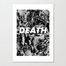 M33 - DEATH Canvas Print