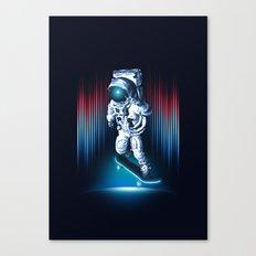 Space Skater Canvas Print