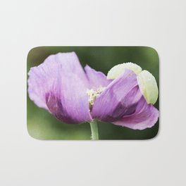 Hungarian Blue Bread Seed Poppy Opening Bath Mat