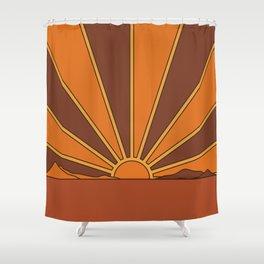 Sun Dreamer Shower Curtain