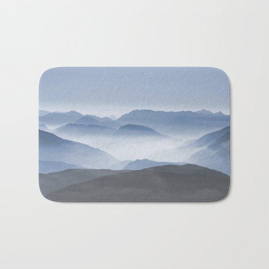 Blue Mountains in Dust Bath Mat