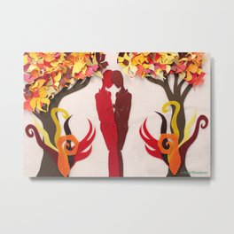 Autumn kiss 1 Metal Print