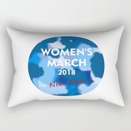 WOMEN'S MARCH 2018 Rectangular Pillow
