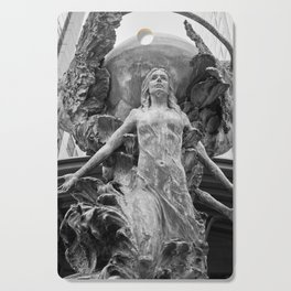 Downtown Statues Cutting Board