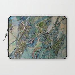 Ocean Botanical Laptop Sleeve