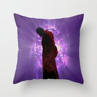 starlord Throw Pillows featuring Lord Of A Galaxy by Rachcox