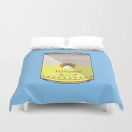 My Neighbor Toto ro - Miyazaki - Special Soup Series  Duvet Cover