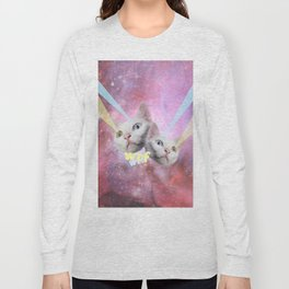 WTF Laser Cats Long Sleeve T-shirt