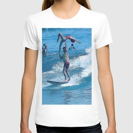 Mary & John Surfing #2 T-shirt