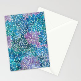 Floral Abstract 33 Stationery Cards