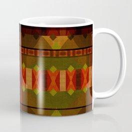 """Full Colors Tribal Pattern"" Coffee Mug"