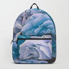 Great Garden Roses blue Backpack