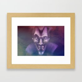 Jocker 2nd Style Framed Art Print