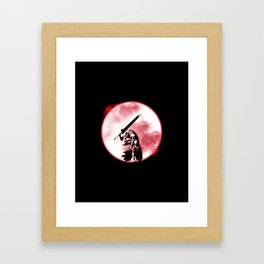 Berserker Moon Framed Art Print