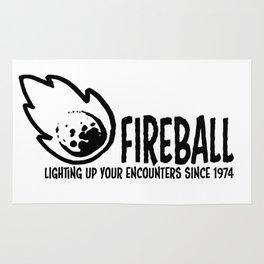 Fireball - lighting up your encounters since 1974 Rug