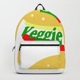 Veggie Burger - Vegan - Meatless Backpack