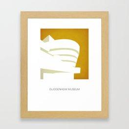 Guggenheim Museum Framed Art Print