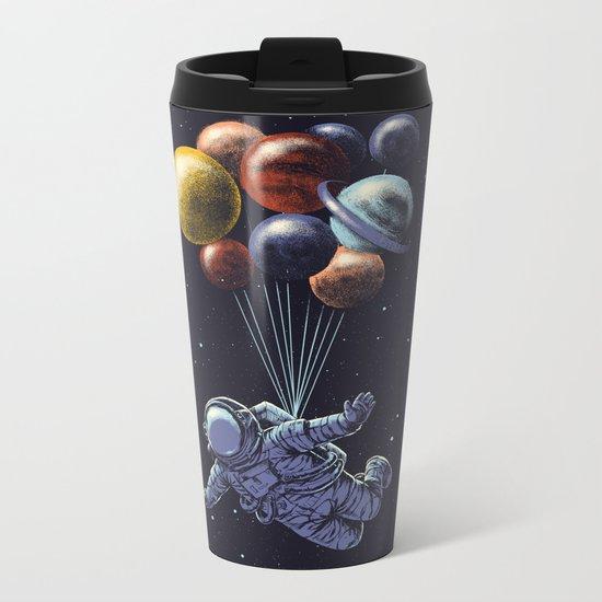 Space travel Metal Travel Mug