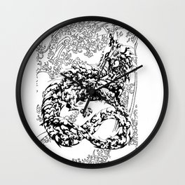 A Dragon from your Subconscious Mind #2 Wall Clock