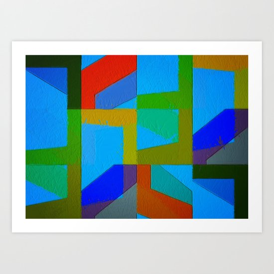 Colorful Truth. Sky Art Print