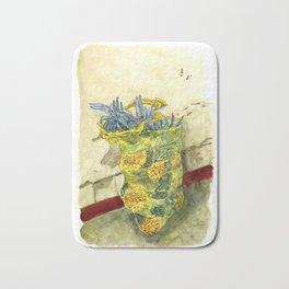 A Bag of Pineapples Bath Mat