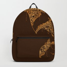Autumn Hamsa Backpack
